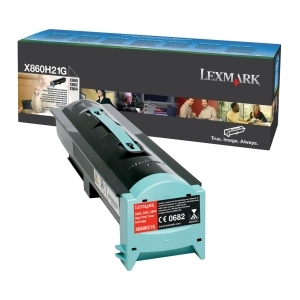 Lexmark X860H21G Black Toner Cartridge