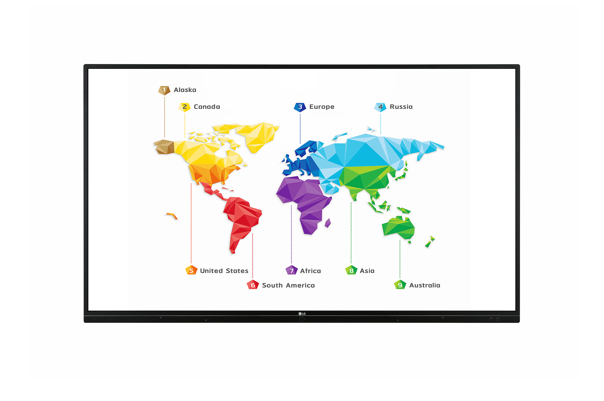 LG 86TR3BF 86 Inch 3840 x 2160 4K 330nit 16/7 Interactive Touchscreen Commercial Display