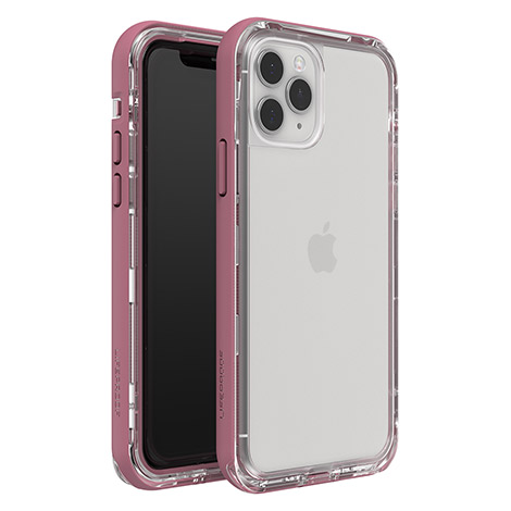 LifeProof NEXT Case for iPhone 11 Pro - Rose Oil (Clear/Pink)