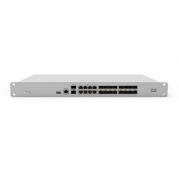 Cisco Meraki MX450 Large Branch Cloud Managed Wired Firewall Security Appliance