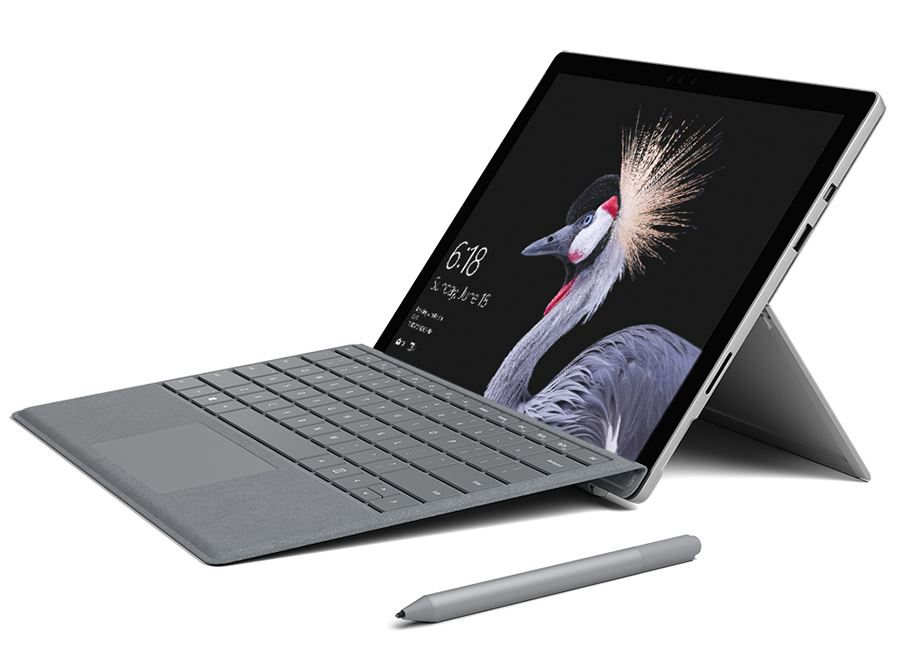 Microsoft Surface Pro 12.3 Inch Core i7 16GB RAM 512GB SSD Windows 10 Pro + FREE Black Type Cover!