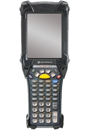Motorola Rugged MC9190-G 43-Key Wireless & Bluetooth Gun-Style 1D Standard Range PDT With Windows CE 6.0