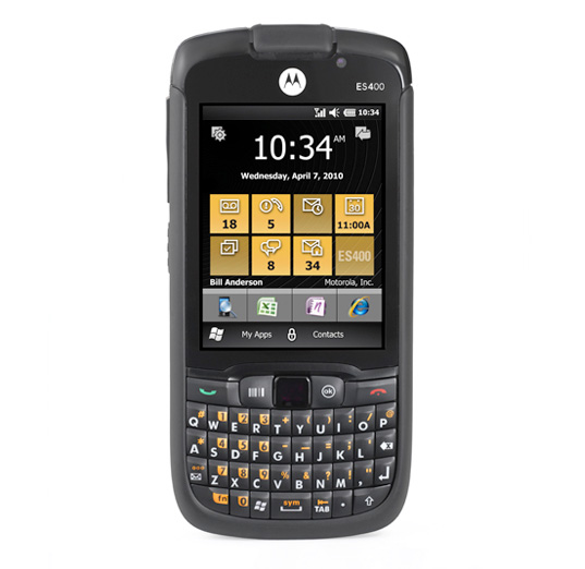 Zebra Global ES400 WiFi, GPS, Bluetooth, 2D Camera Touch (EDA) PDT With Windows Mobile 6.5.3 Professional