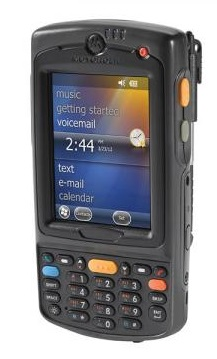 Zebra MC75A6 Wireless Numeric 2D Standard Range Camera 2.5X Battery PDT with Windows Mobile 6.5