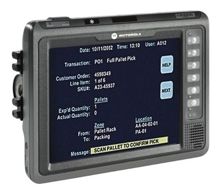 Zebra VC70N0 BT WiFi 512MB, 2GB Flash, Ultra Rugged Vehicle Mount Mobile Computer With Windows Embedded Compact 7 Pro