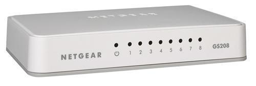 Netgear GS208 8-Port Gigabit Switch