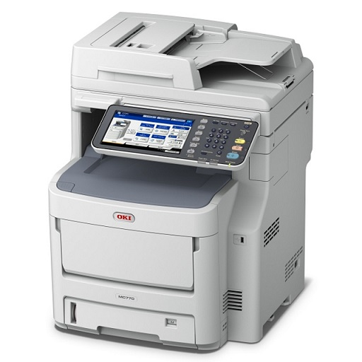 OKI MC770DN 33ppm Duplex Network Colour Laser Multifunction Printer + 3 Year Warranty Extension Offer!
