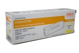 Oki C56YTONE Yellow Toner Cartridge