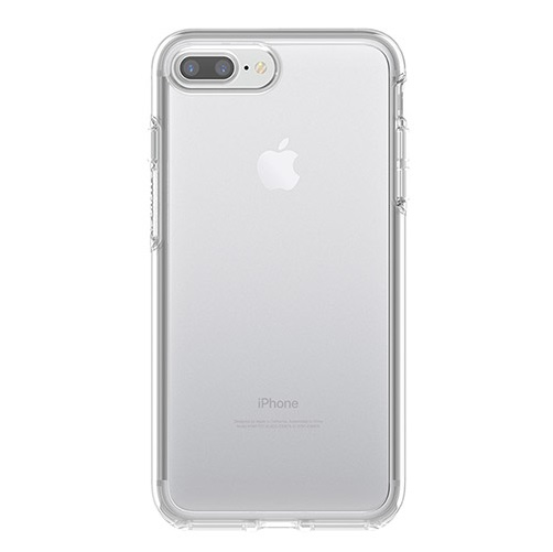 OtterBox Symmetry Case for iPhone 7 Plus & iPhone 8 Plus - Clear Crystal