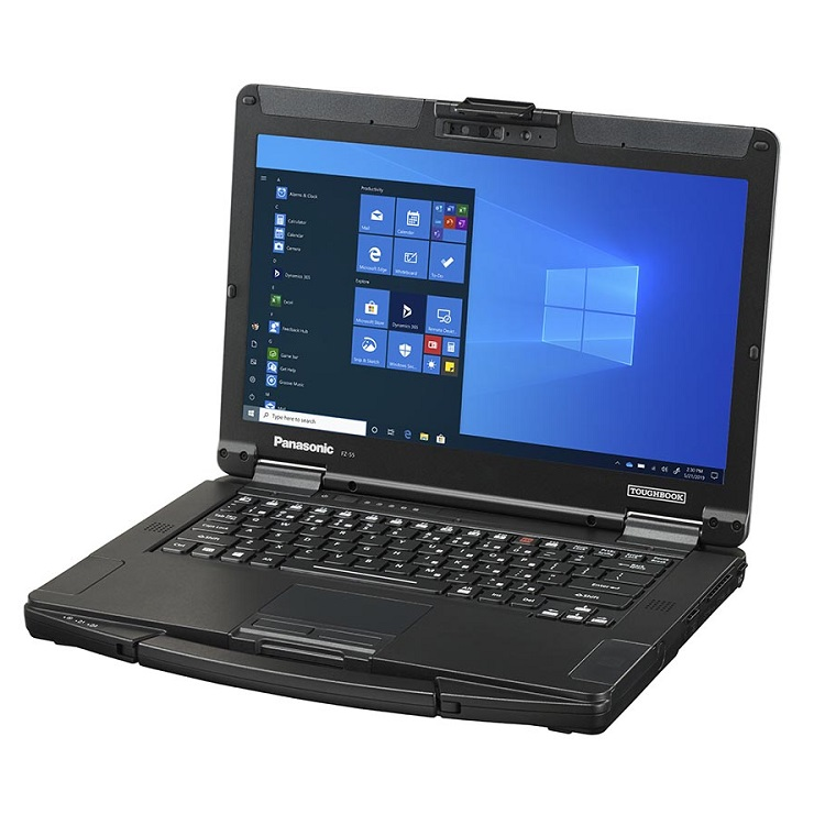 Panasonic Toughbook 55 14 Inch Full HD i5-7300U 3.5GHz 8GB RAM 256GB SSD Semi-Rugged Touchscreen Laptop with Windows 10 Pro