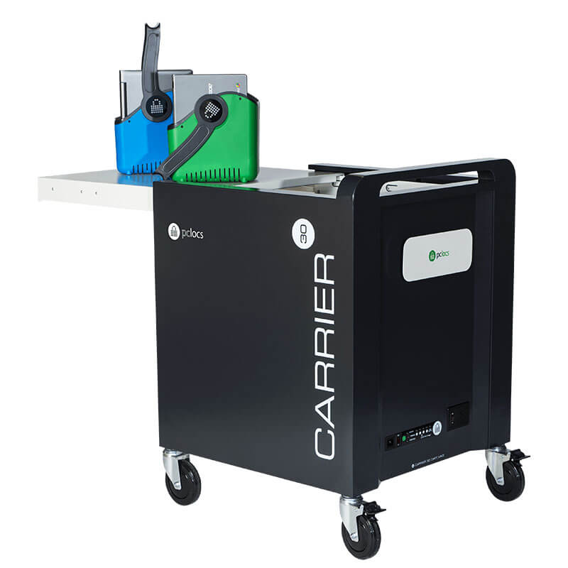 PC Locs Carrier 30 Cart - 30 Bay Charging & Storage Cart