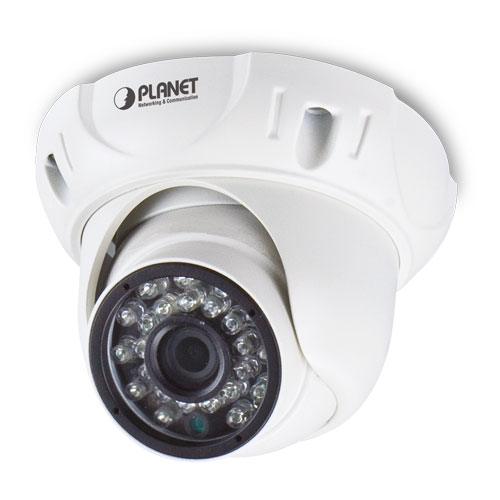 Planet ICA-4250 1080P 2MP IR PoE Network Dome Camera with Fixed Lens