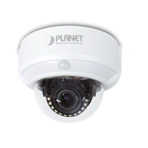 Planet ICA-M4320P 1080P 3MP IR PoE Network Dome Camera with Remote Focus and Zoom