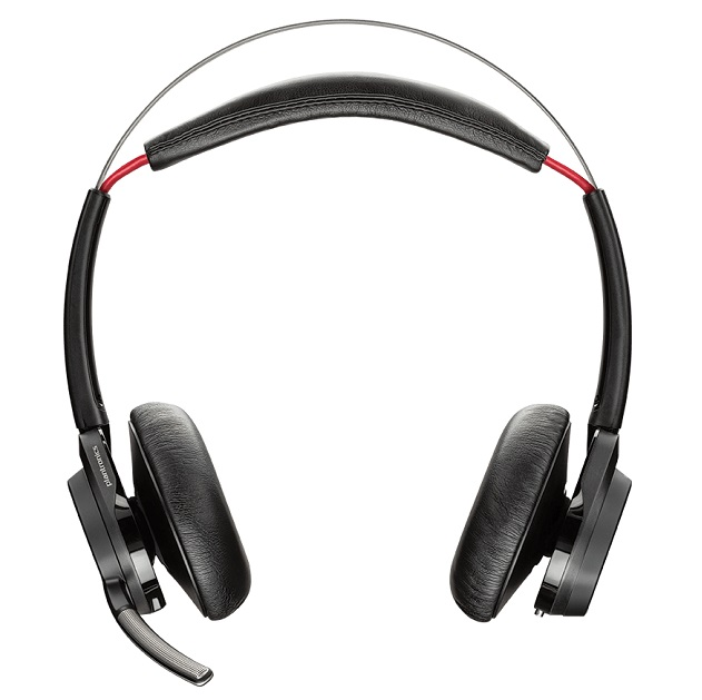 Plantronics Voyager Focus B825-M UC MS Wireless Stereo Bluetooth Noise Cancelling Headset - Optimised for Microsoft Skype for Business