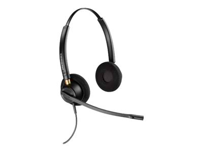 Poly EncorePro HW520D Digital Series Wired Stereo Quick Disconnect Noise Cancelling Headset