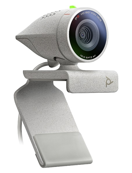 Poly Studio P5 1080P USB Webcam with Privacy Shutter