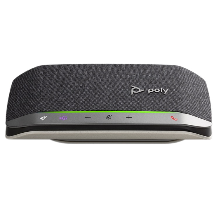 Poly Sync 20 MS USB-C Bluetooth Smart Speakerphone - Optimised for Microsoft Business Applications
