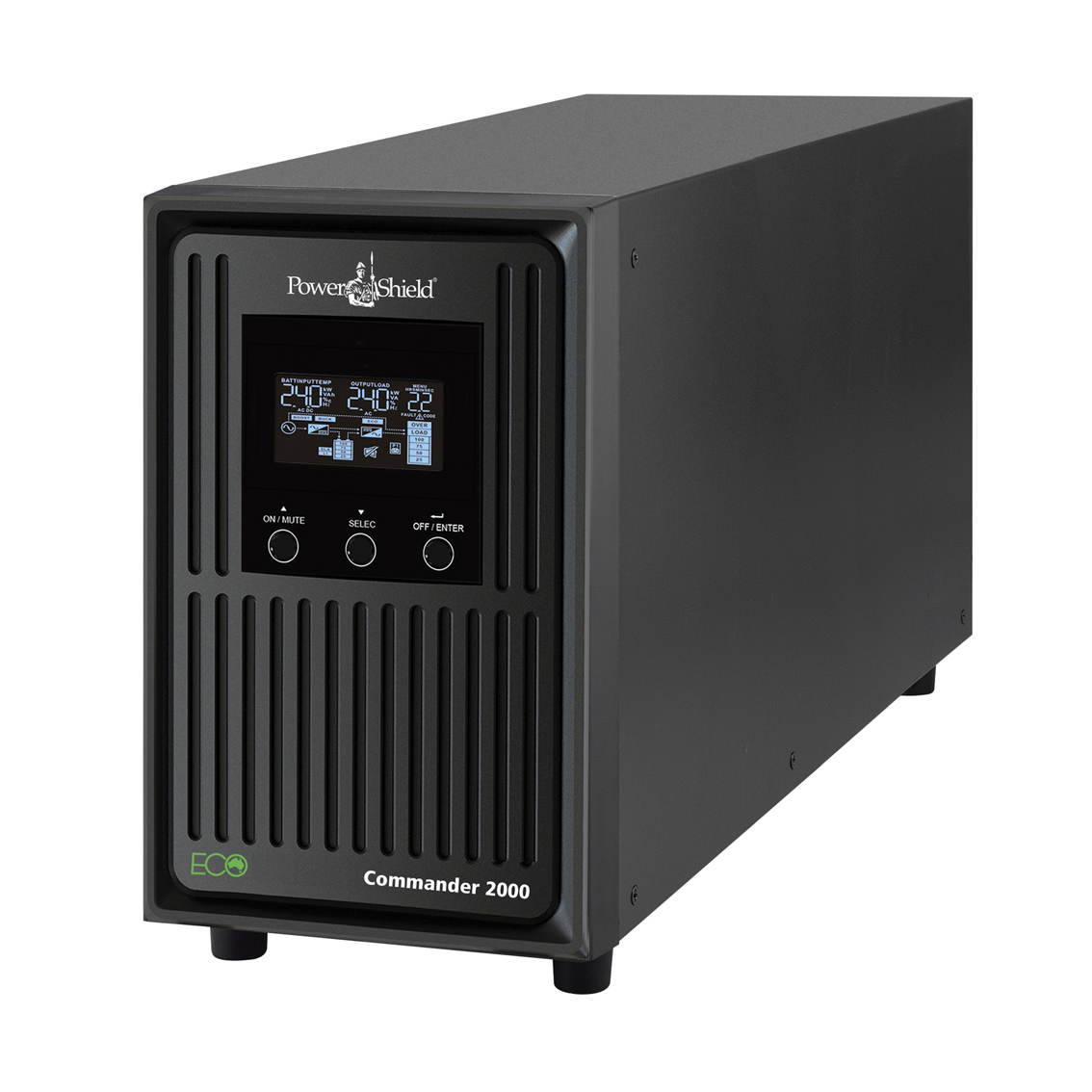 PowerShield Commander 2000VA 1800W 5 Outlet Line Interactive Tower UPS