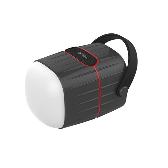Promate CAMPMATE-1  8800mAh Power Bank with 3W LED Light & 5W Speaker - Black