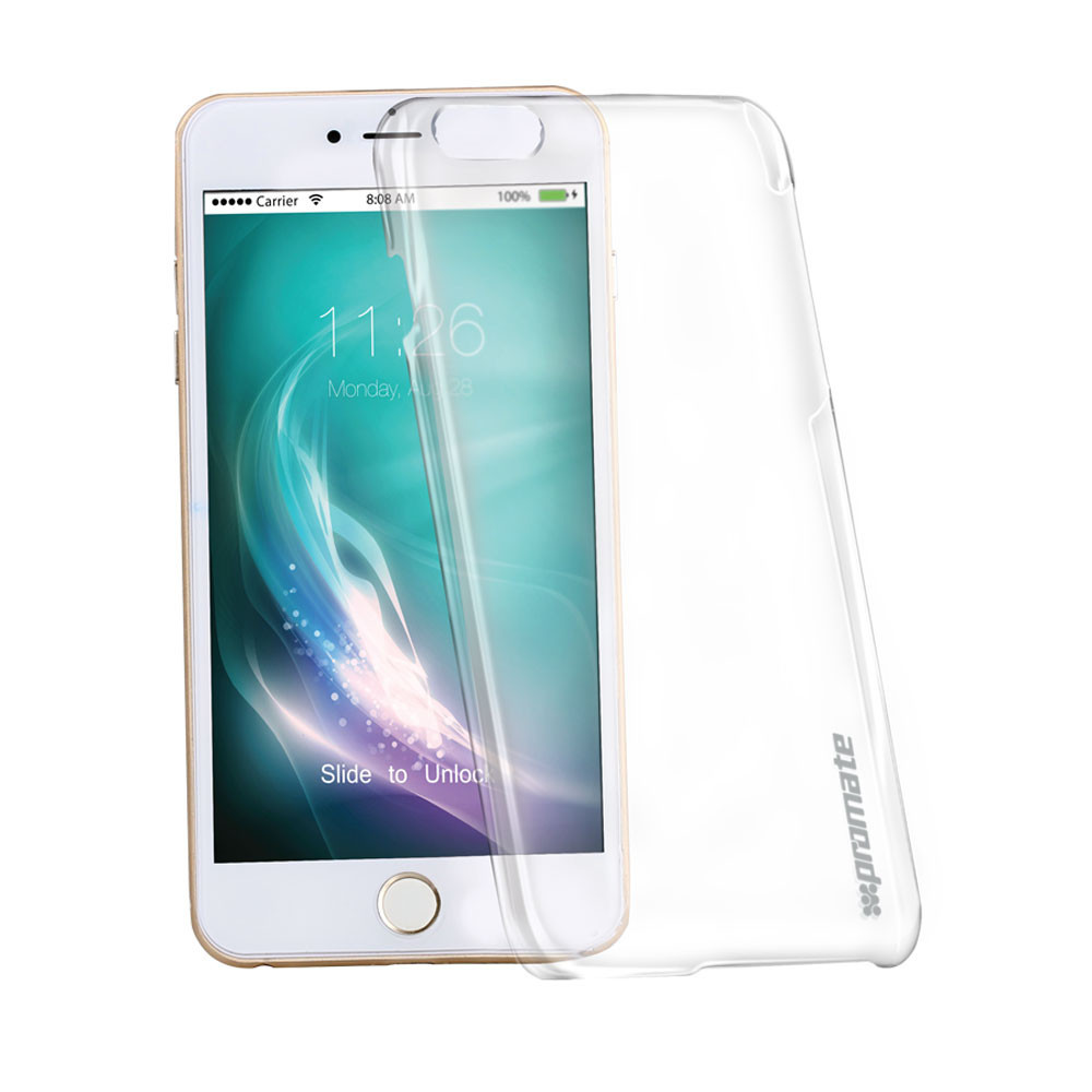 Promate Crystal Clear Shell Protective Case for iPhone 6/6S Plus