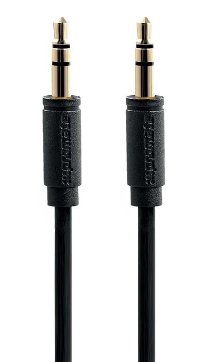 Promate LINKMATE-A1L Premium 3.5mm Stereo Audio Cable – Black