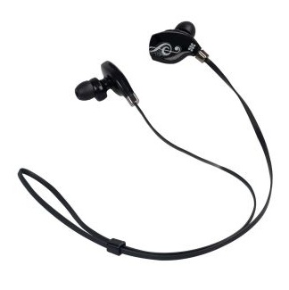 Promate Lite-2 Premium Sporty Universal Stereo Ear Bud Wireless Bluetooth Headphones - Black