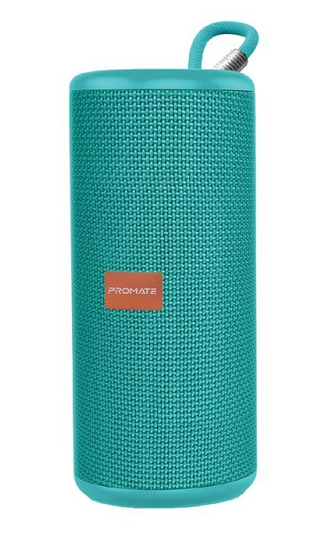 Promate Pylon 10W High Definition Bluetooth Stereo Sound Speaker - Turquoise