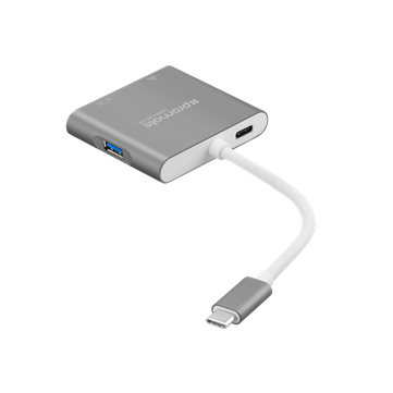 Promate UniHub-C3 Universal USB-C 3.1 Hub with Power Delivery