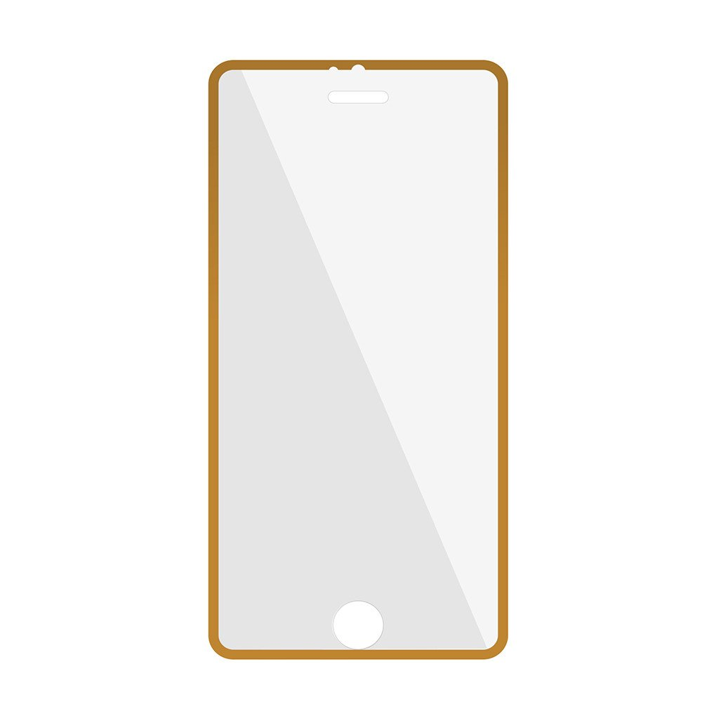Promate UtterShield Ultra-Thin Tempered Optical Glass Edge-to-Edge Screen Protector for iPhone 6 - Gold
