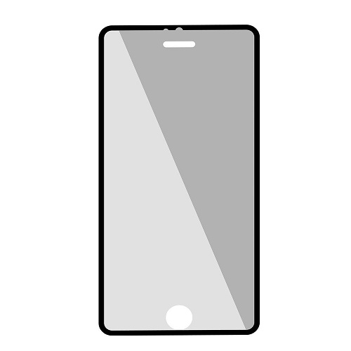 Promate UtterShield Ultra-Thin Tempered Optical Glass Edge-to-Edge Screen Protector for iPhone 6 - Black