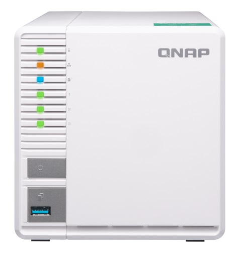 QNAP TS-328 3 Bay 2GB RAM Diskless Tower NAS