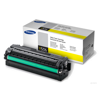 Samsung CLT-Y506L Yellow Toner Cartridge