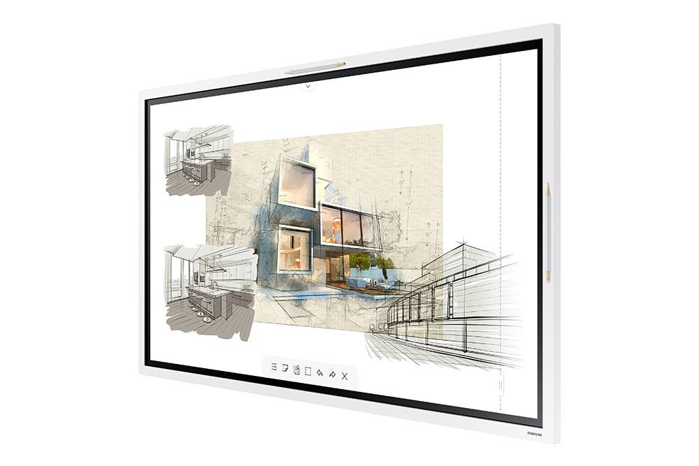 Samsung Flip 2 55 Inch 3840x2160 4K 350nit 16/7 Touchscreen Interactive Commercial Display