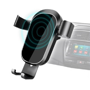 Sansai IPH-662B Wireless Phone Car Charger with Vent Mount