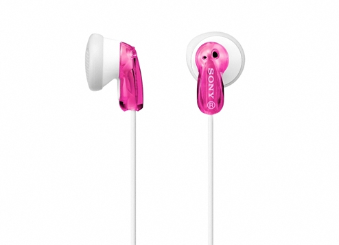 Sony MDR-E9LPP In-Ear Dynamic Style Headphones - Pink