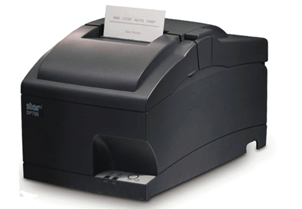 Star SP742 Serial Impact Cutter Receipt Printer Charcoal