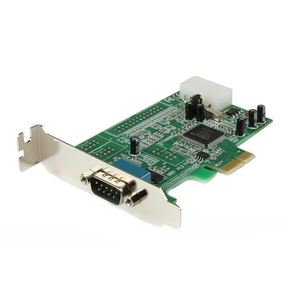 StarTech 1 Port Low Profile PCI Express DB-9 RS232 Serial Card