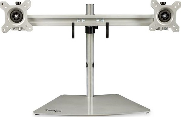 StarTech Dual Monitor Monitor Desk Stand for up to 24 Inch Flat Panel TV's or Monitors - Up to 8kg  + Be in the draw to WIN 1 of 2 $500 Prezzy Cards