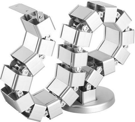 StarTech 1.29m Cable Management Spine - Silver