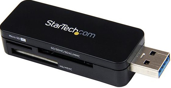 StarTech USB 3.0 External Flash Multi Media Memory Card Reader - SDHC MicroSD  + Be in the draw to WIN 1 of 2 $500 Prezzy Cards