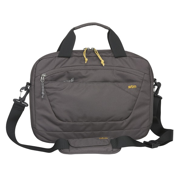 STM Swift 13 Inch Laptop Brief Shoulder Bag - Steel