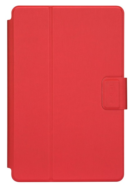 Targus SafeFit Rotating Universal Case for 7 - 8.5 Inch Tablets - Red
