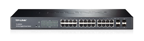 TP-Link TL-SG2424 24-Port Gigabit Smart Switch with 4 Combo SFP Slots