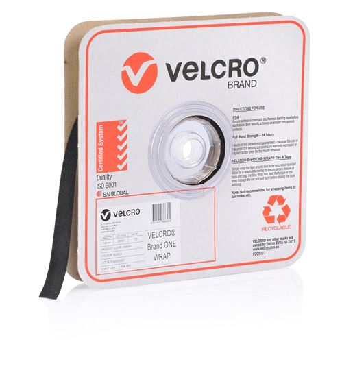 Velcro One-Wrap 19mm x 22.8m Cable Management Roll
