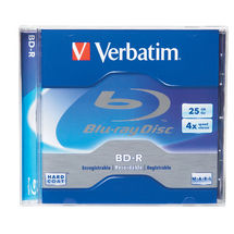 Verbatim BD-R 6x 25GB Jewel Case - 1 Pack