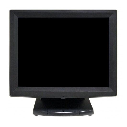 VPOS 135 15 Inch 5 Wire ELO Resistive Touch Panel Monitor - VGA USB