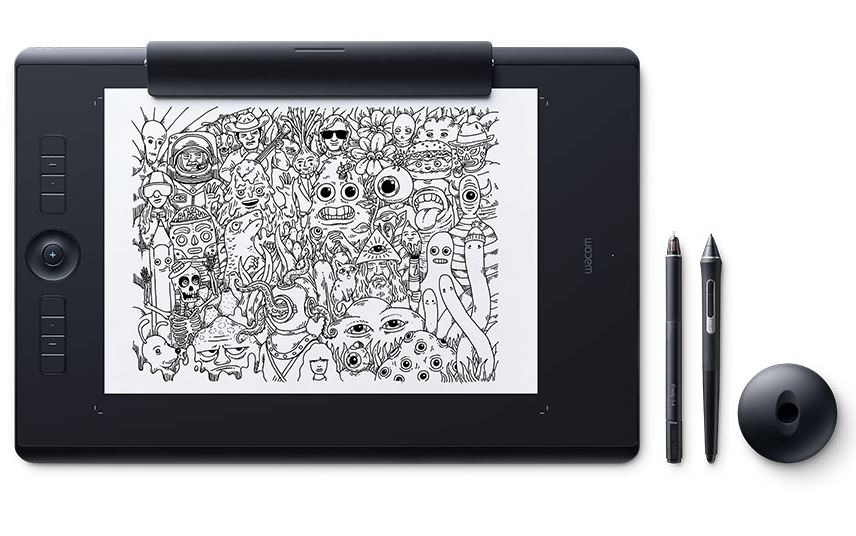 Wacom Intuos Pro Large Tablet Paper Edition with Pro Pen 2