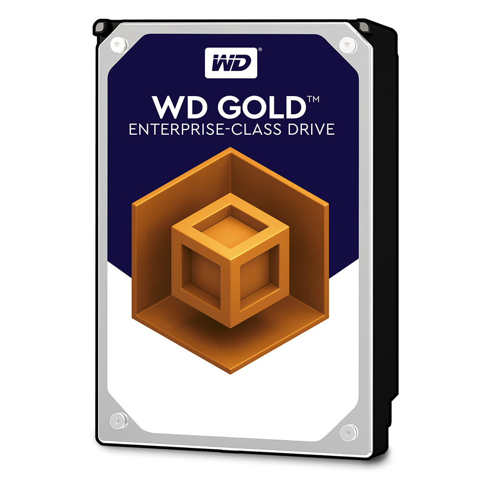 Western Digital Gold Enterprise 2TB 7200rpm 128MB Cache 3.5 Inch SATA3 Datacenter Hard Drive