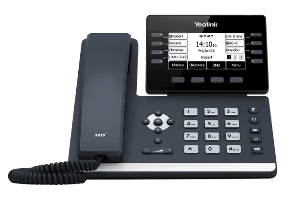 Yealink SIP-T53W Prime Business with Adjustable 3.7 Inch Graphical LCD