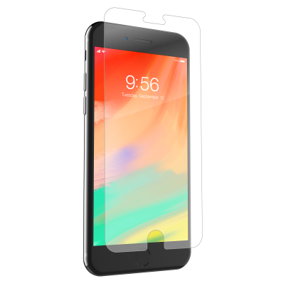 Zagg InvisibleShield Glass+ Screen Protector for iPhone 8 Plus